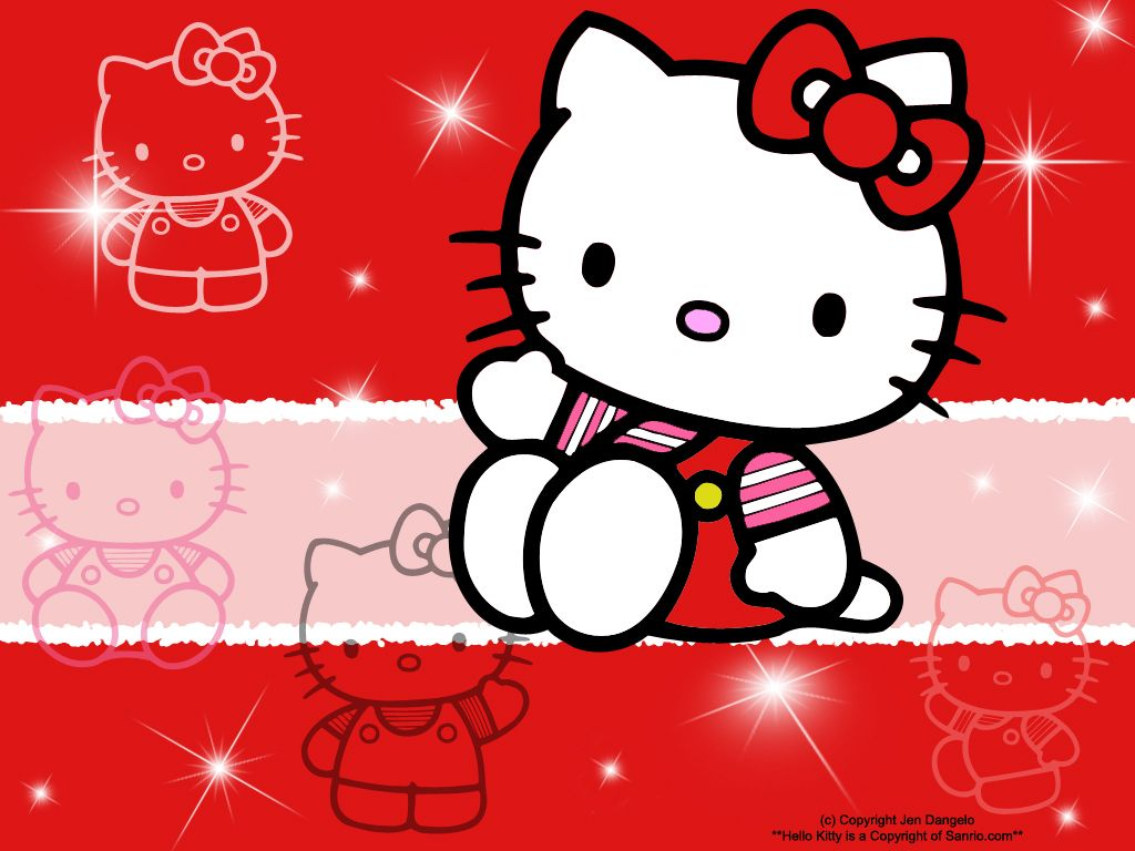 Hello Kitty Kawaii Emojis Posted By Sisca Cute Love U At 550 AM