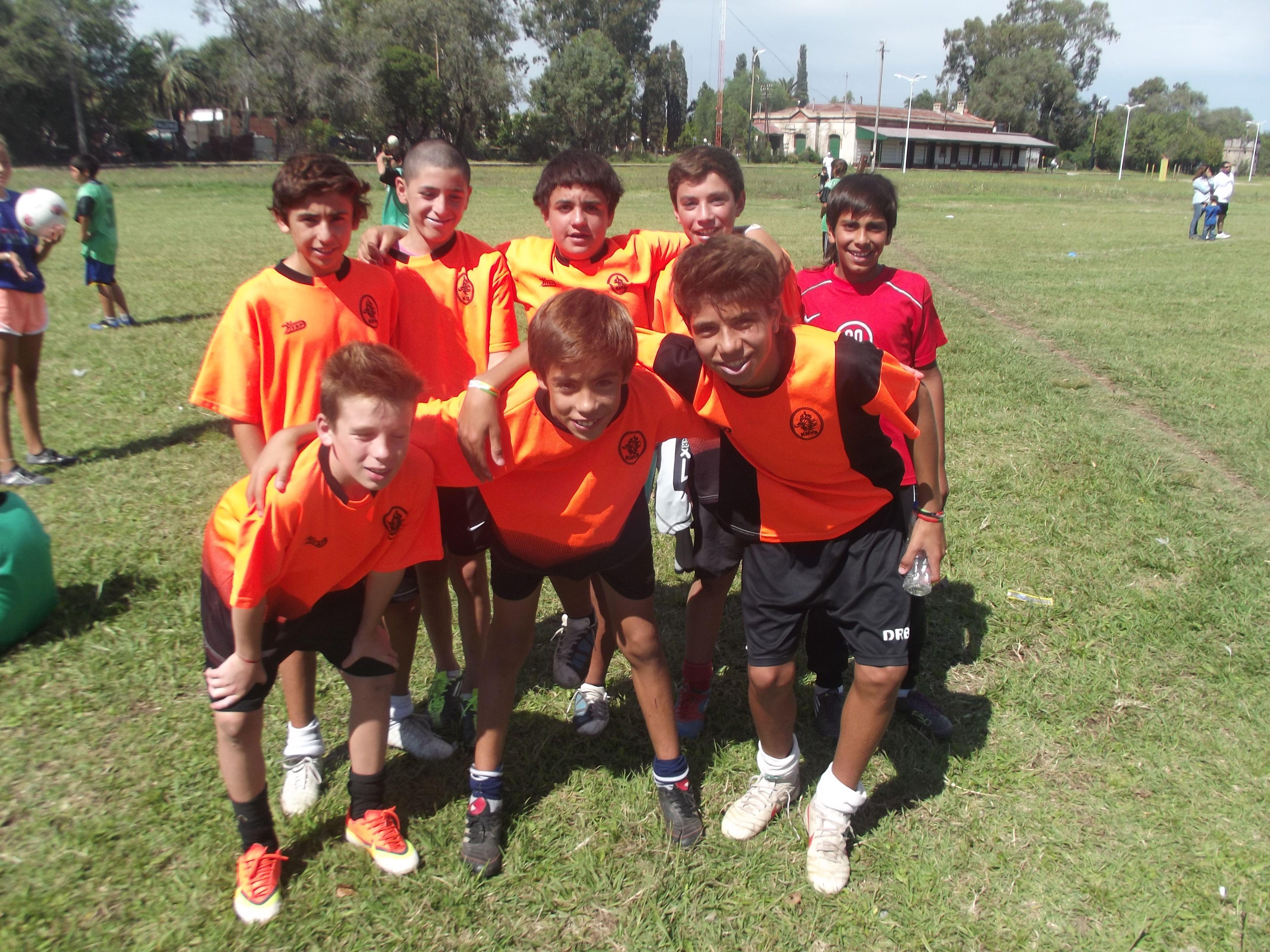 Equipo campeón del torneo en la categoría hasta 13 años.