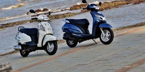 Honda Activa 125 Vs Suzuki Access 125 Comparison Review With