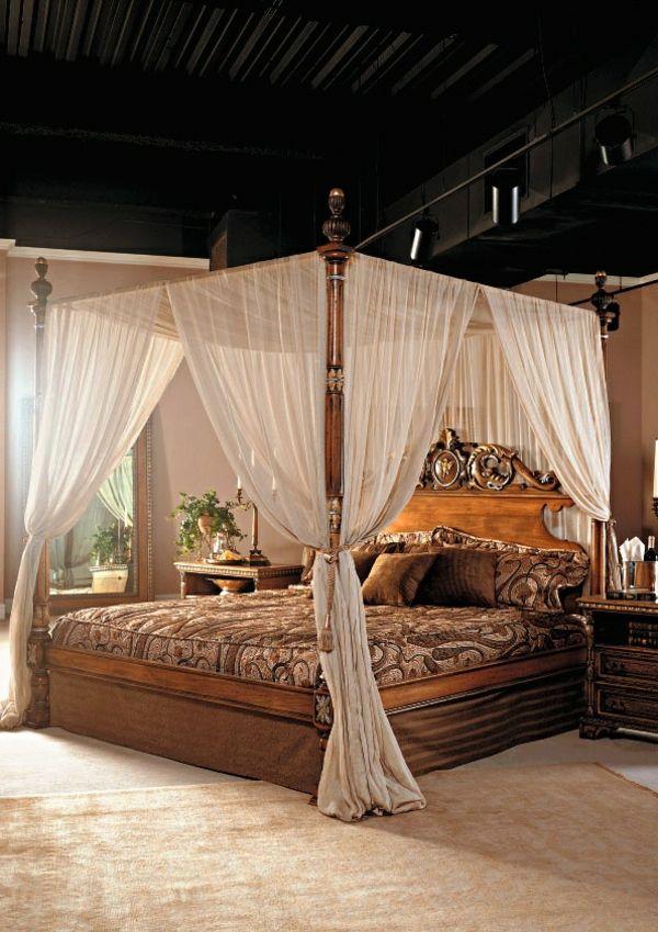 Betthimmel - ein traumhaftes Schlafzimmer Design erschaffen Cots