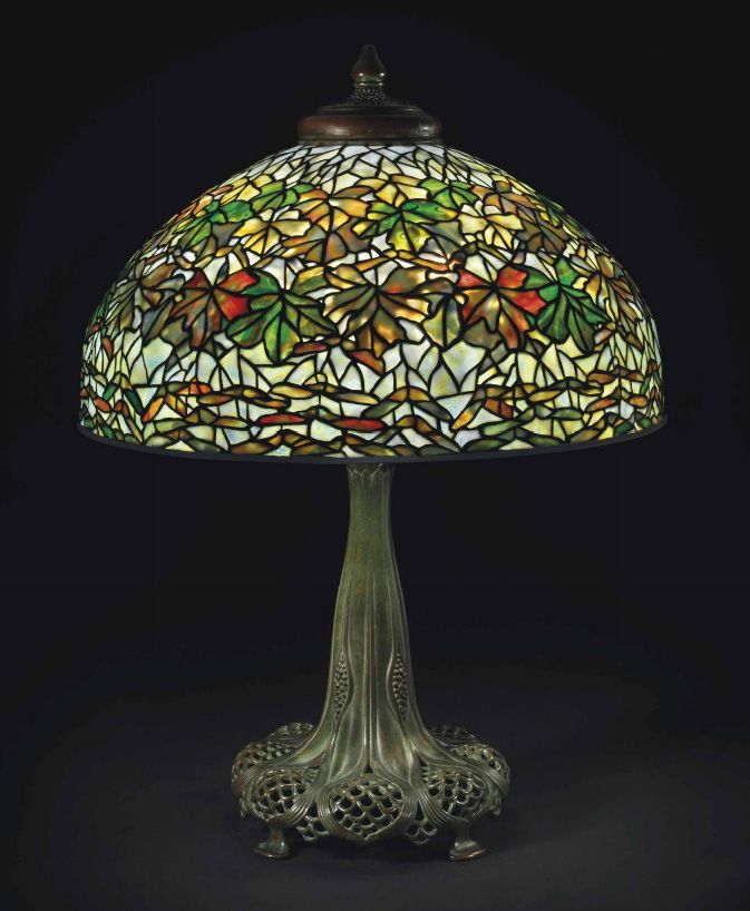 Maple Leaf table lamp by Tiffany Studios | Christie's | Decor ...