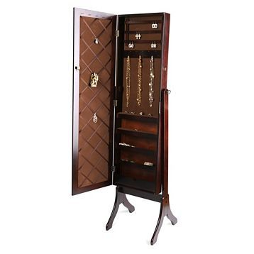 Cheval Jewelry Armoire Mirror Diy Jewelry Armoire Mirror