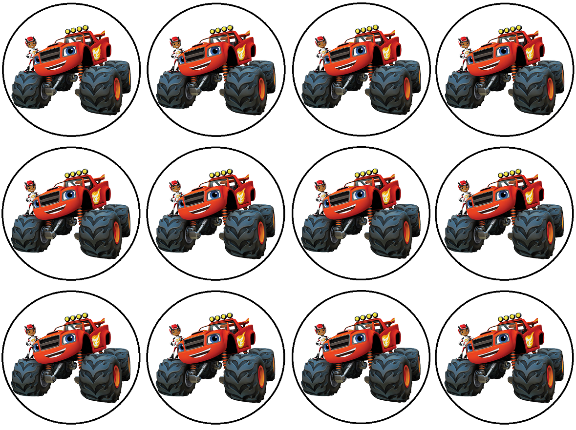 Pin By Crafty Annabelle On Blaze Amp The Monster Machines Printables In