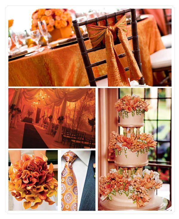 Orange Invitation Wedding Theme 1 Best Free Home Design Idea Inspiration
