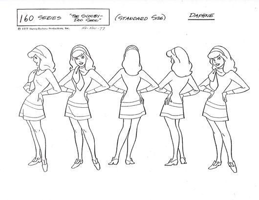 Scooby Doo Model Sheets Like A Butterfly Model Sheets Scooby