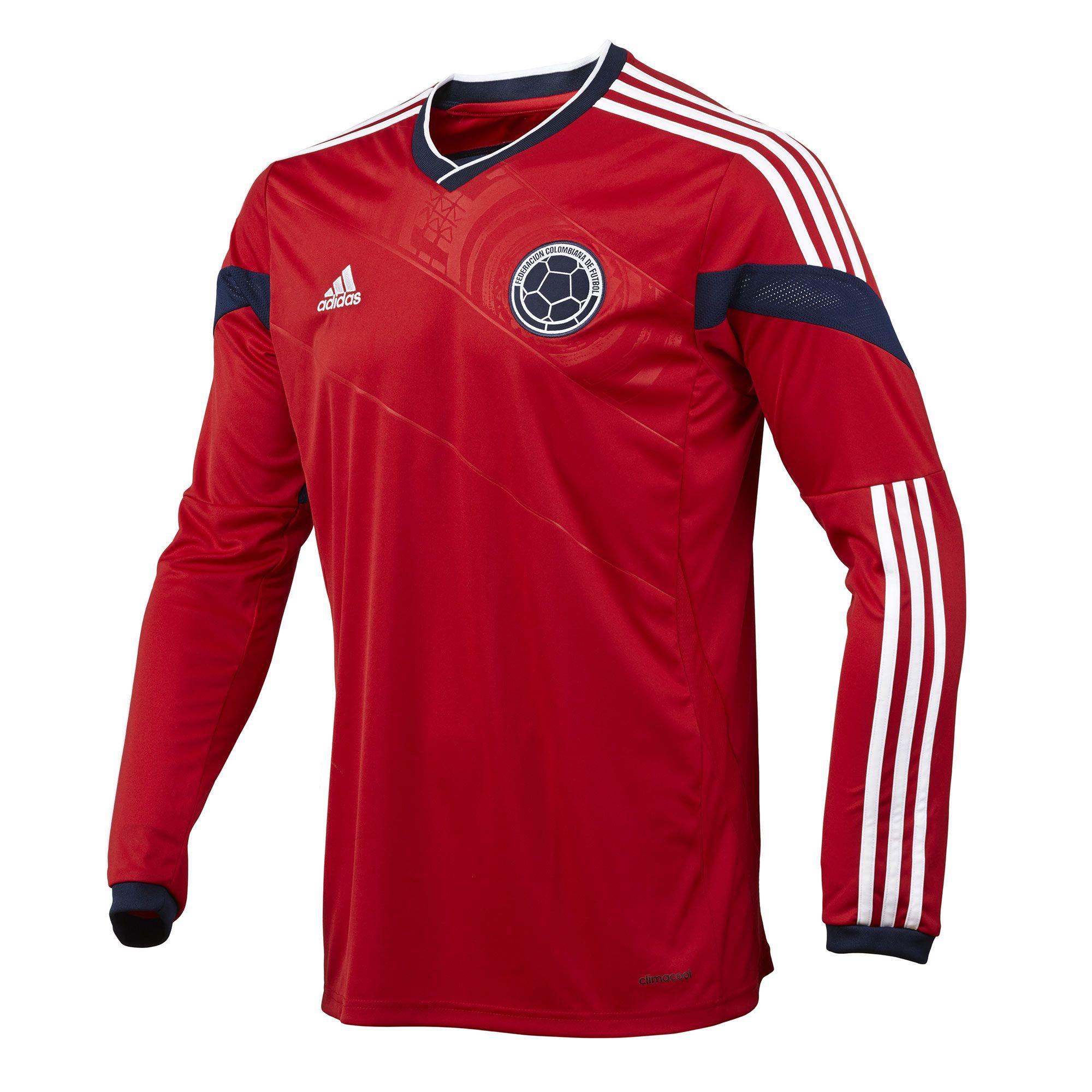 adidas Camiseta Manga Larga Visitante Selección Colombia  d8a56ec1a92f2