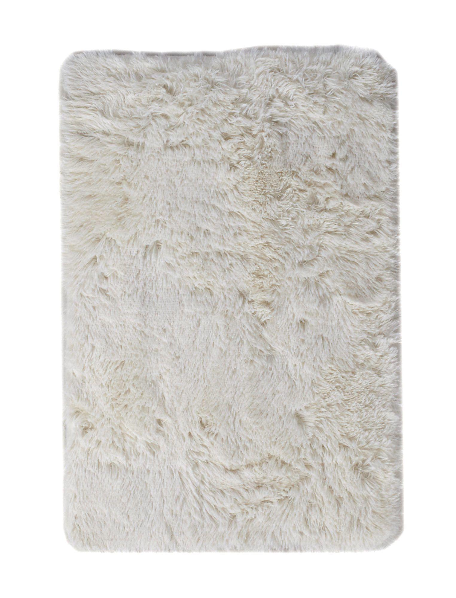 Tapis 120x170 Cm Alaska Blanc Intérieur Minimaliste