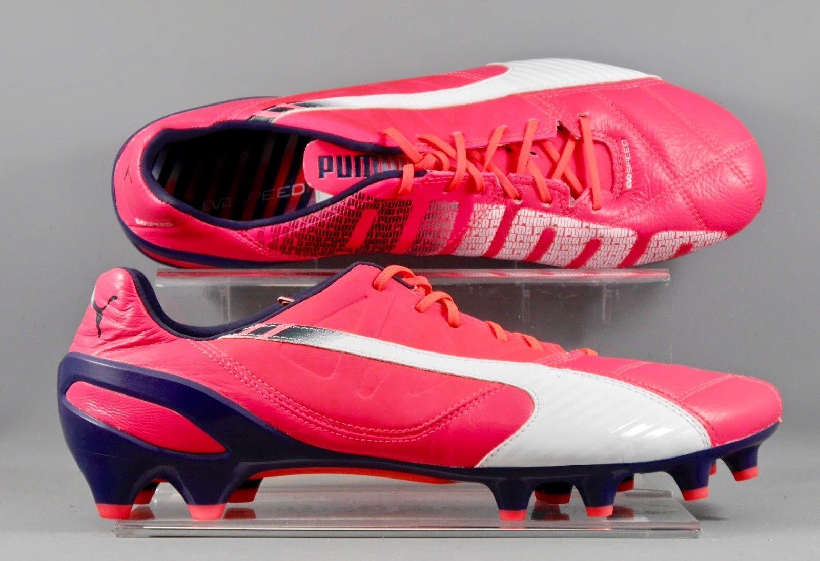 ab81b69da0f 103010-03 Puma EvoSpeed 1.3 leather FG firm ground football boots. Zapatos  De Fútbol