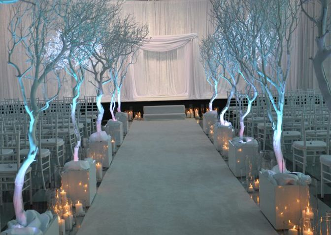 wedding ideas for winter wonderland winter wedding ceremony decor by a memorable 28194