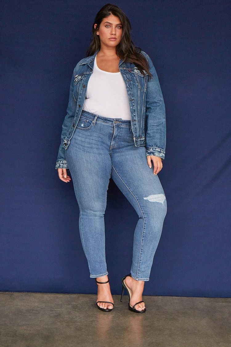 Product Name Plus Size Levis 311 Shaping Skinny Jeans Category Clearance Zero Price 70 Plus Size Outfits Plus Size Women Plus Size
