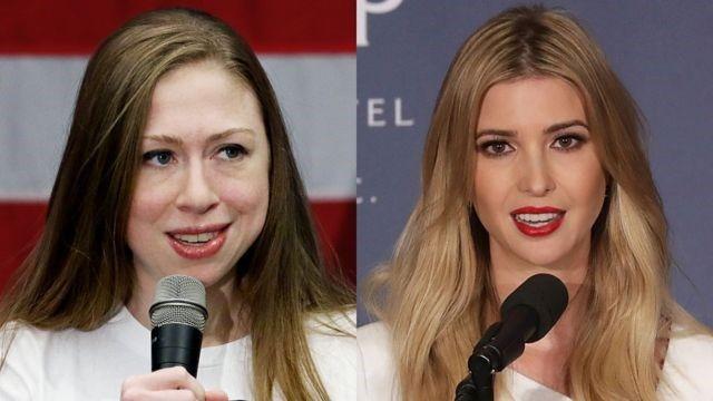 Chelsea o Ivanka: los planes de Clinton y Trump para dejar sus negocios en manos de sus hijas