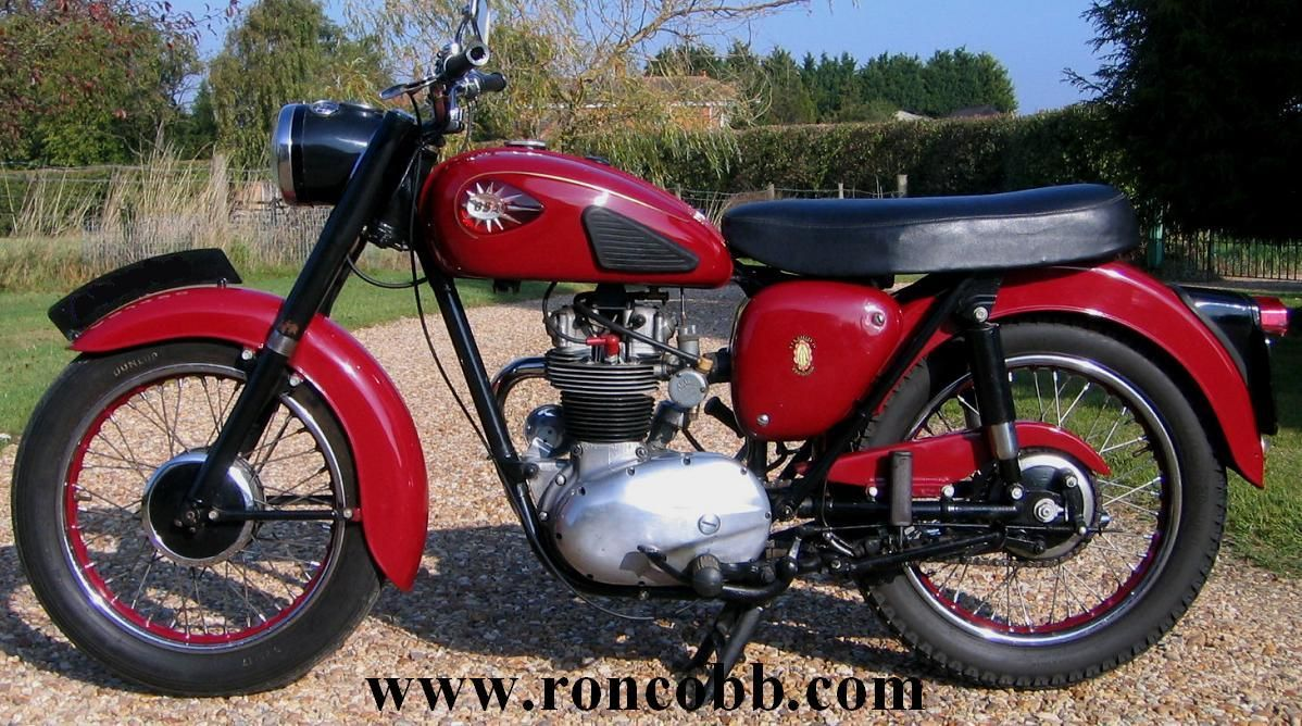 Bsa c15 250cc star motorcycle for sale