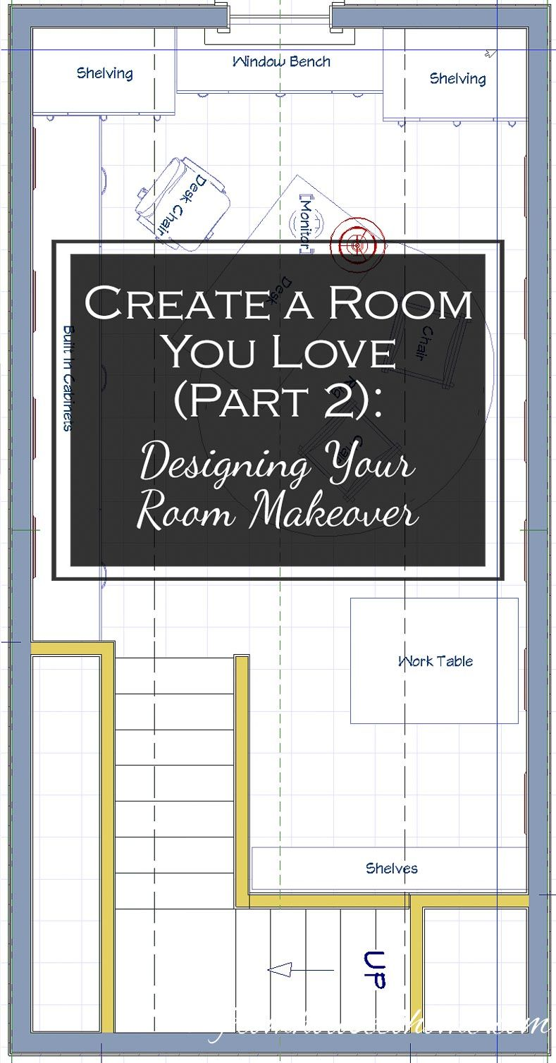 Create A Room You Love Part 2: Designing Your Room Makeover | Want to re-do a room but need some help designing your room makeover?