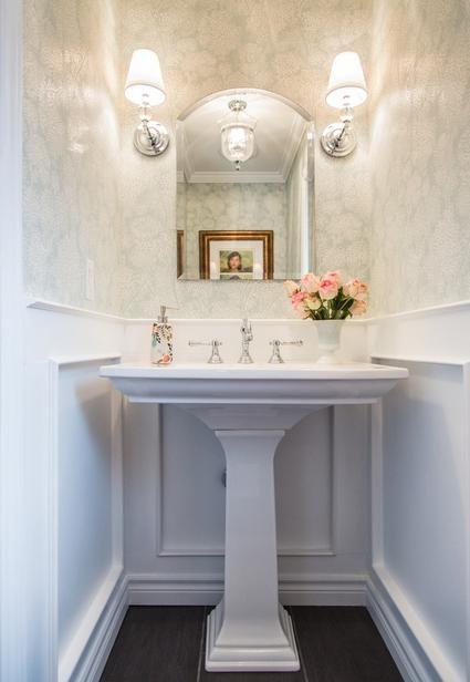 Kohler Memoirs Stately With Images Powder Room Sink Powder
