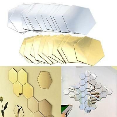 Hexagonal Mirror 3D Modern Mirror Geometric Hexagon ...