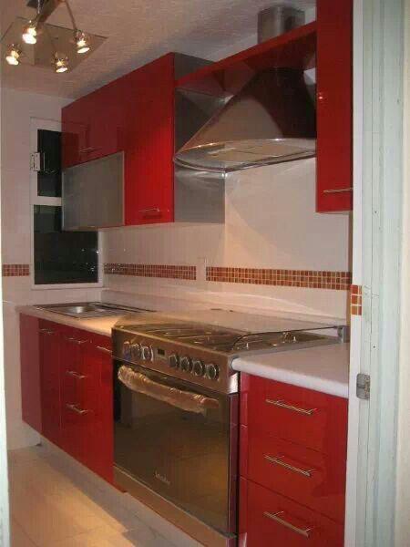 Cocina #rojo ♥♥♥ kichy Pinterest Cocina roja, Rojo y Cocinas