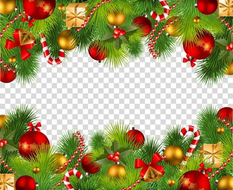 Christmas Clip Art Christmas Border Png Santa Claus Branch Christmas Christmas Decoration Christmas O Clip Art Borders Christmas Border Christmas Images