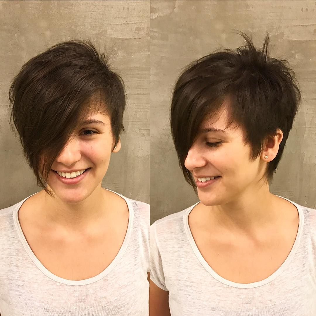 best short hairstyles for thick hair in fab new color combos