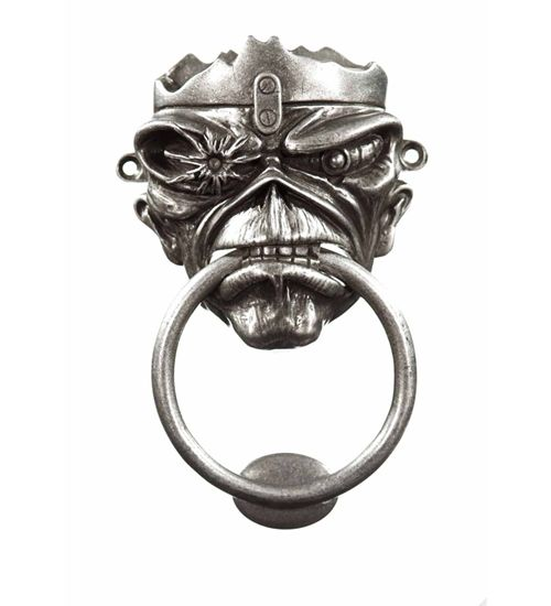Eddie Door Knocker Maiden Gadgets Pinterest Iron