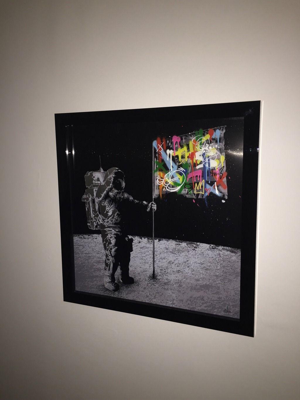 FS: Martin Whatson One Small Step Aluminium | Urban Art Association ...