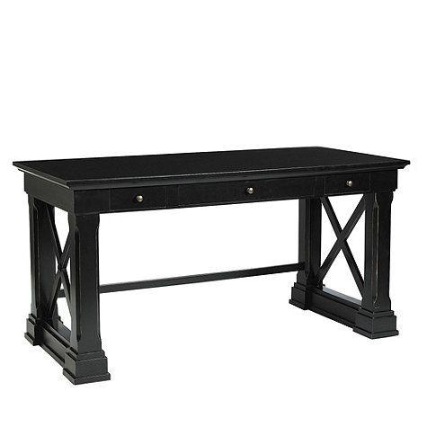 black office desk aj in 2019 desk cool office desk black desk rh pinterest com