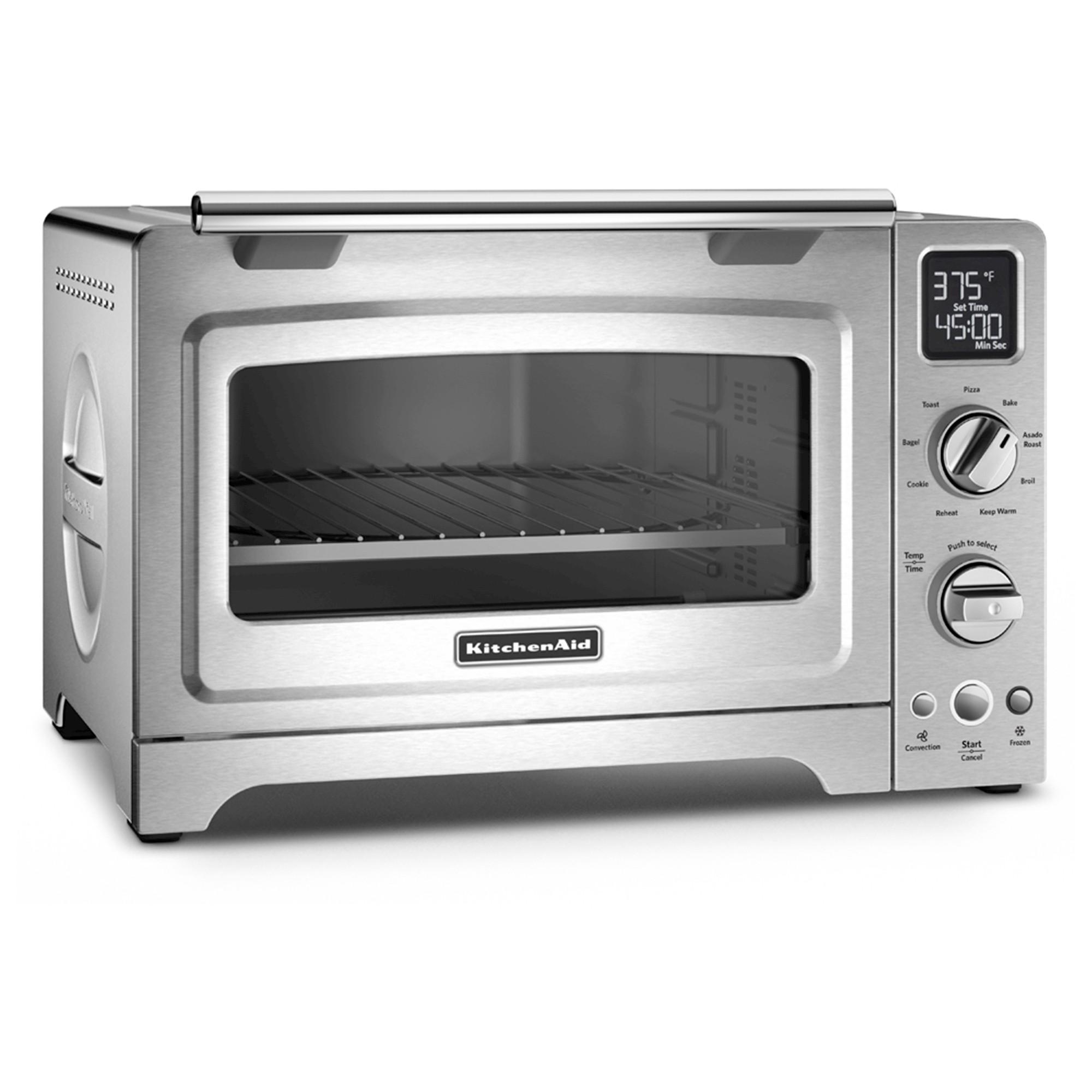 Kitchenaid 12 Convection Digital Countertop Oven Kco275 Silver Countertop Oven Convection Toaster Oven Countertop Convection Oven