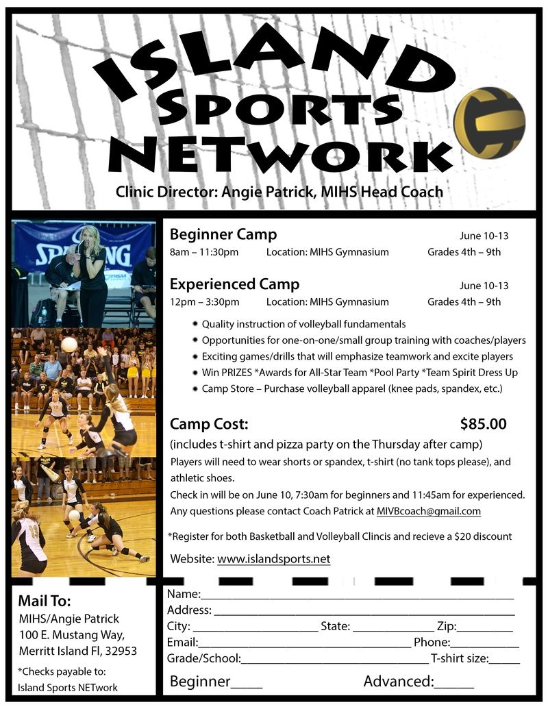 volleyball camp flyer | Cape Coast Volleyball Club | Volleyball ...