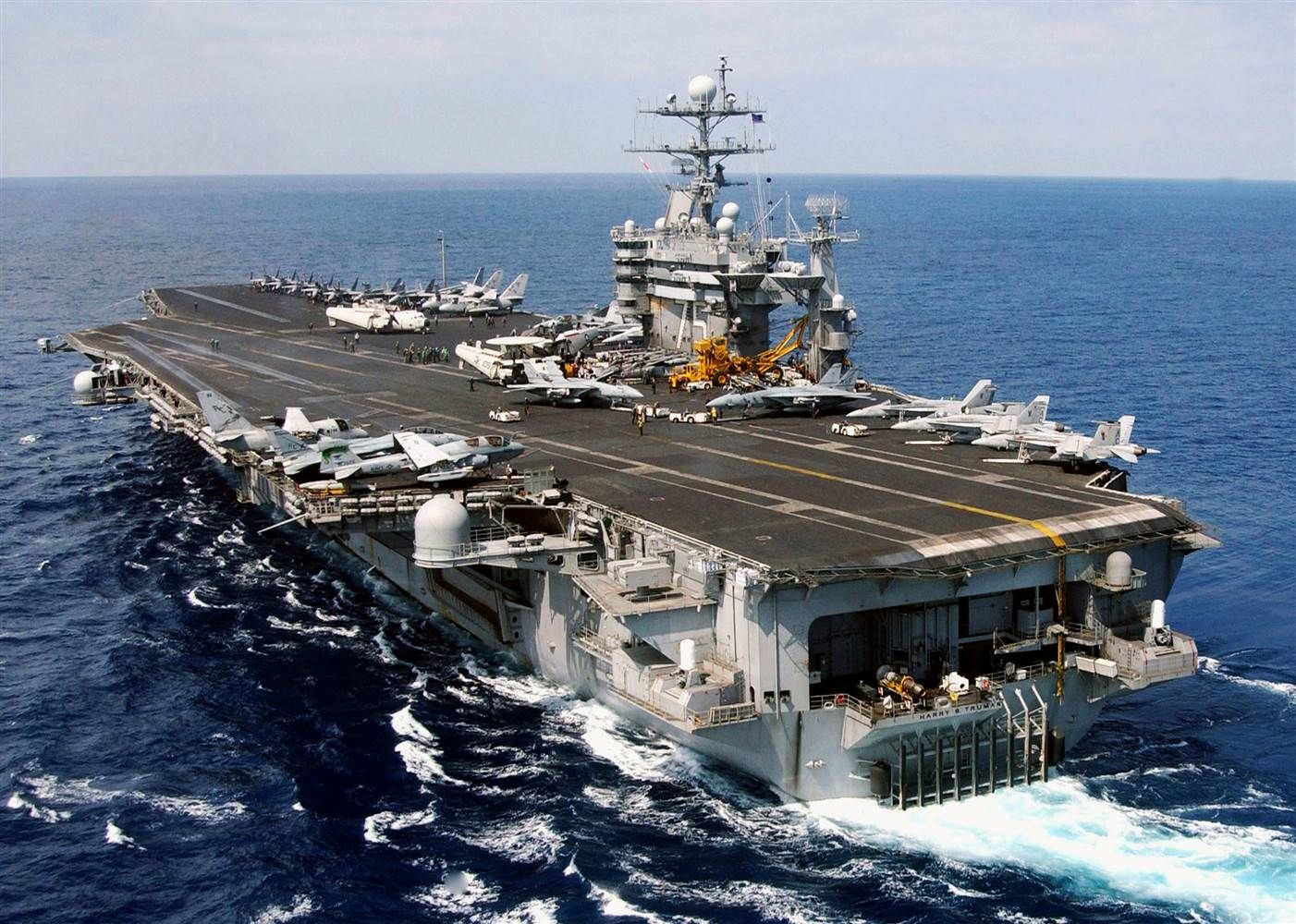 US Navy Launches Strikes On Iraq sheet