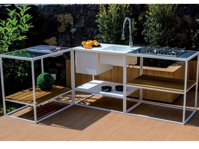 Cucine da esterno (Foto) | Designmag | Cucine | Kitchen, Kitchen ...