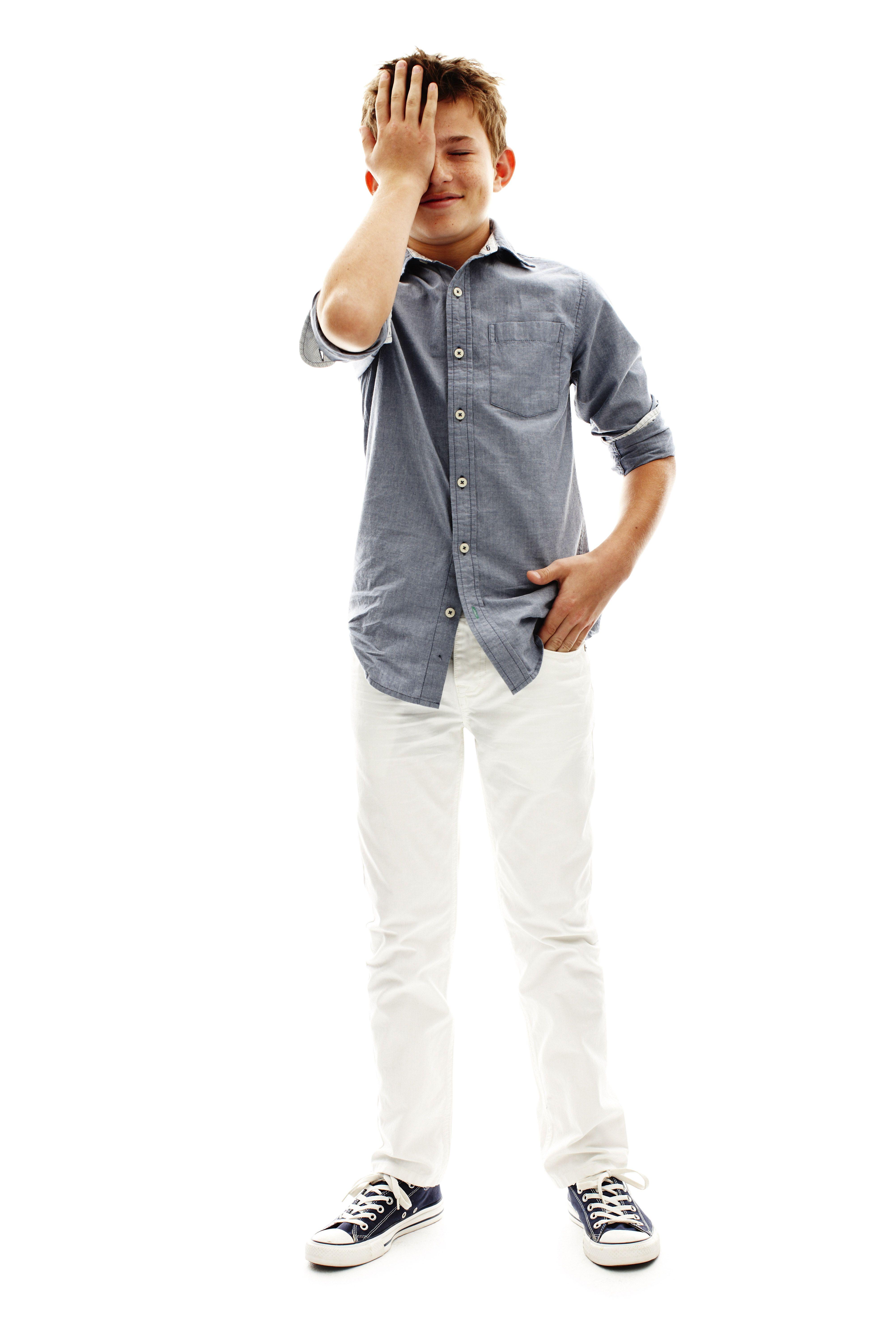 Arizona Boys Woven Shirt And Skinny Jeans Tween Boy Fashion Tween Boy Outfits