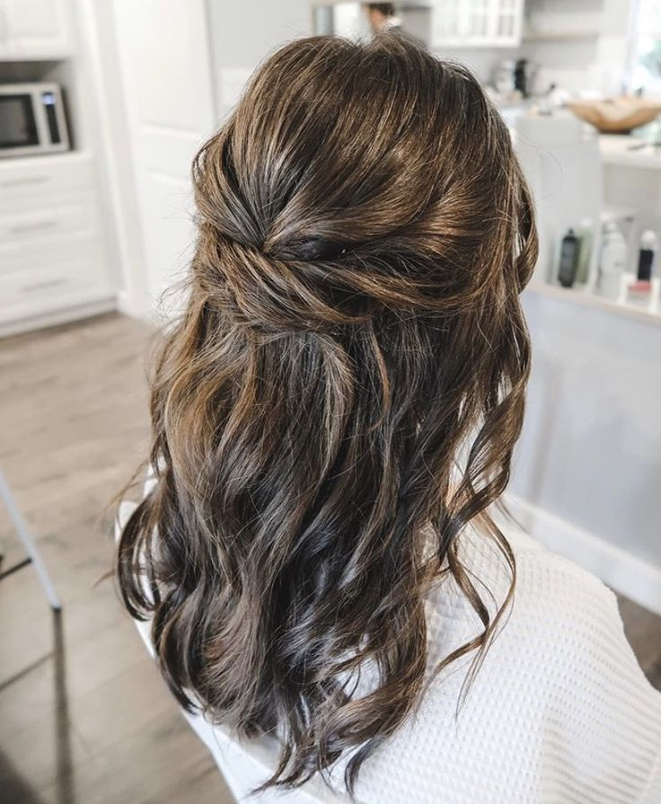 Maid Of Honor Bridesmaid Hairstyling Brides Maid Hair Down Hairstyles Bridesmaid Hairdo In 2020 Brides Maid Hair Bridesmaid Hairdo Hair Styles