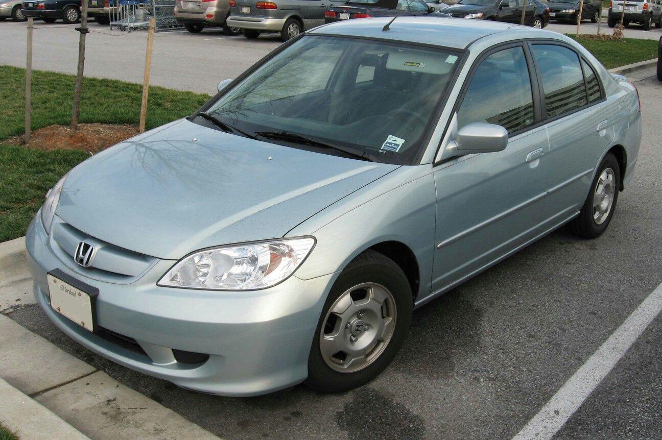 2005 Honda Civic Hybrid Front Of Car Honda Civic Hybrid Acura Honda