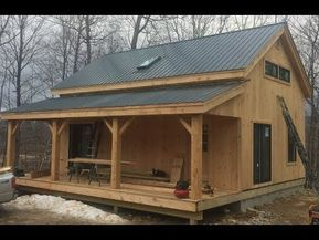 20 x 40 vermont cabin kits house idea s cabin cabin kits house rh pinterest com
