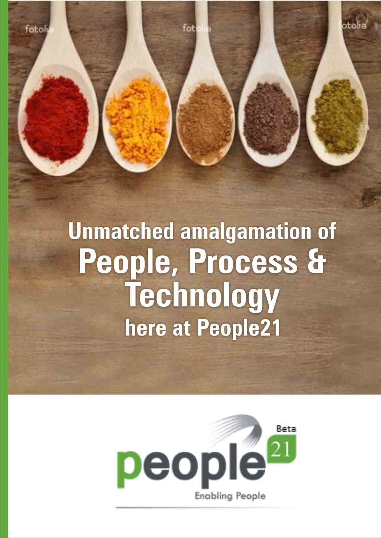 Poster designed for People21, Hyderabad, India