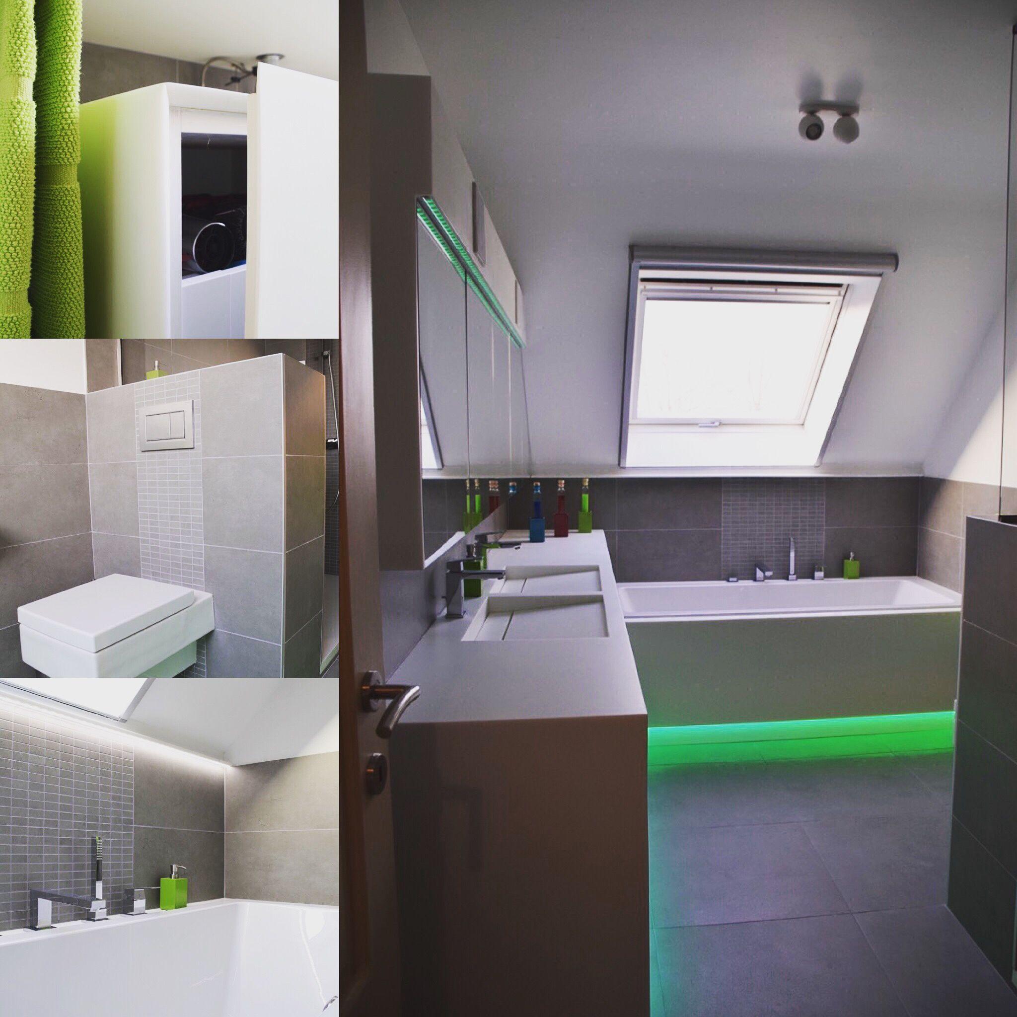 volledige badkamer op maat in Sloid Surface, hi-macs arts white s006 ...