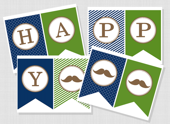 photo relating to Happy Father's Day Banner Printable referred to as Cost-free Printable \