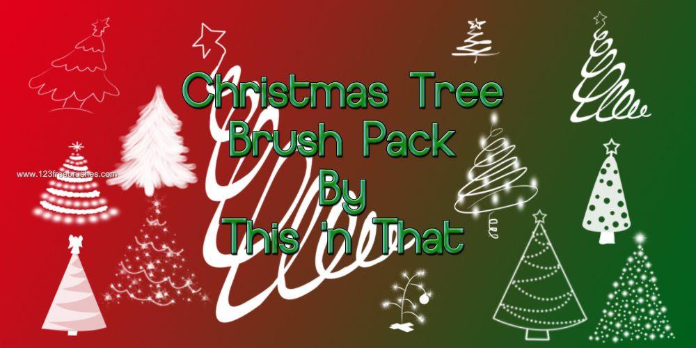 Christmas Tree Photoshop Brushes Free Cs5 Tree Photoshop Photoshop Brushes Free Christmas