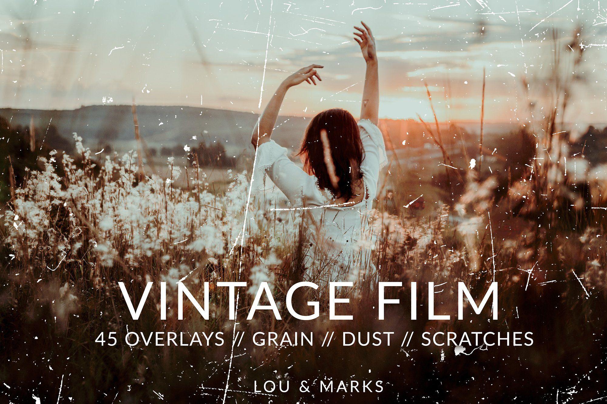 Vintage Film Texture Overlays Ps Film Texture Photoshop Overlays Vintage Film