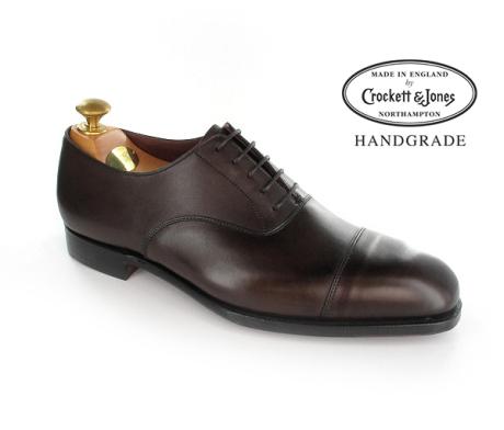 Oxford shoes AUDLEY calfskin light brown Crockett & Jones R7bsuY