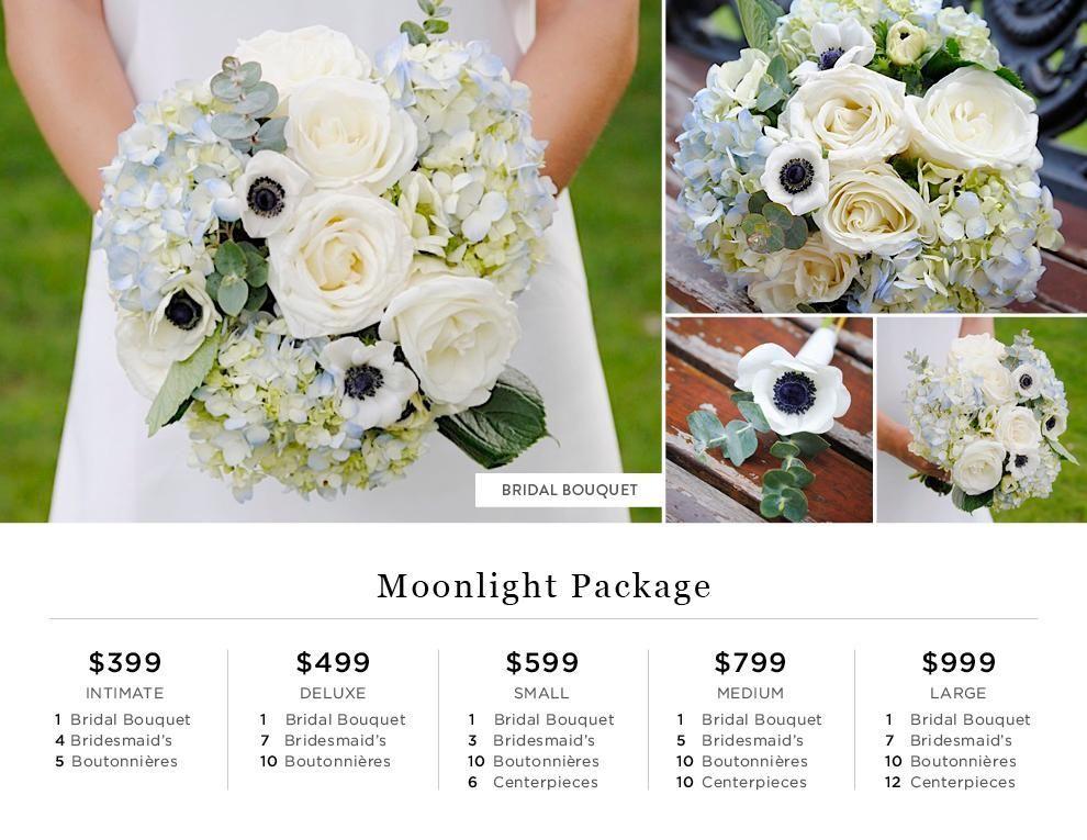 moonlight pricing flower bouquets for the wedding pinterest rh pinterest com