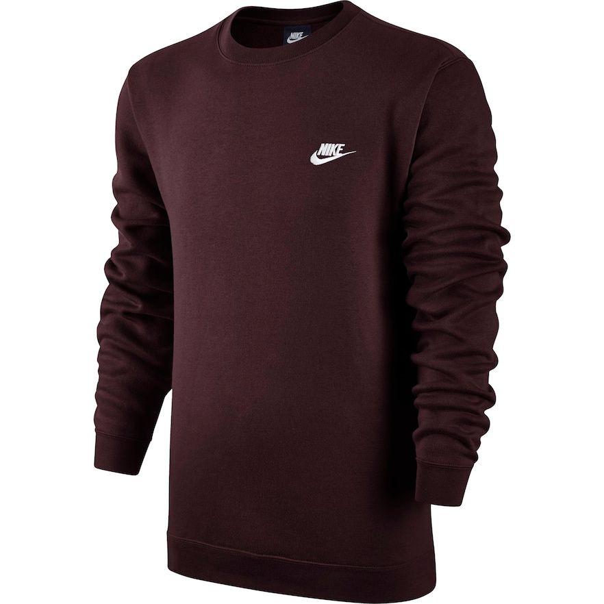 Men's Nike Club Crew Fleece | Kohls | Nike men, Mens ...