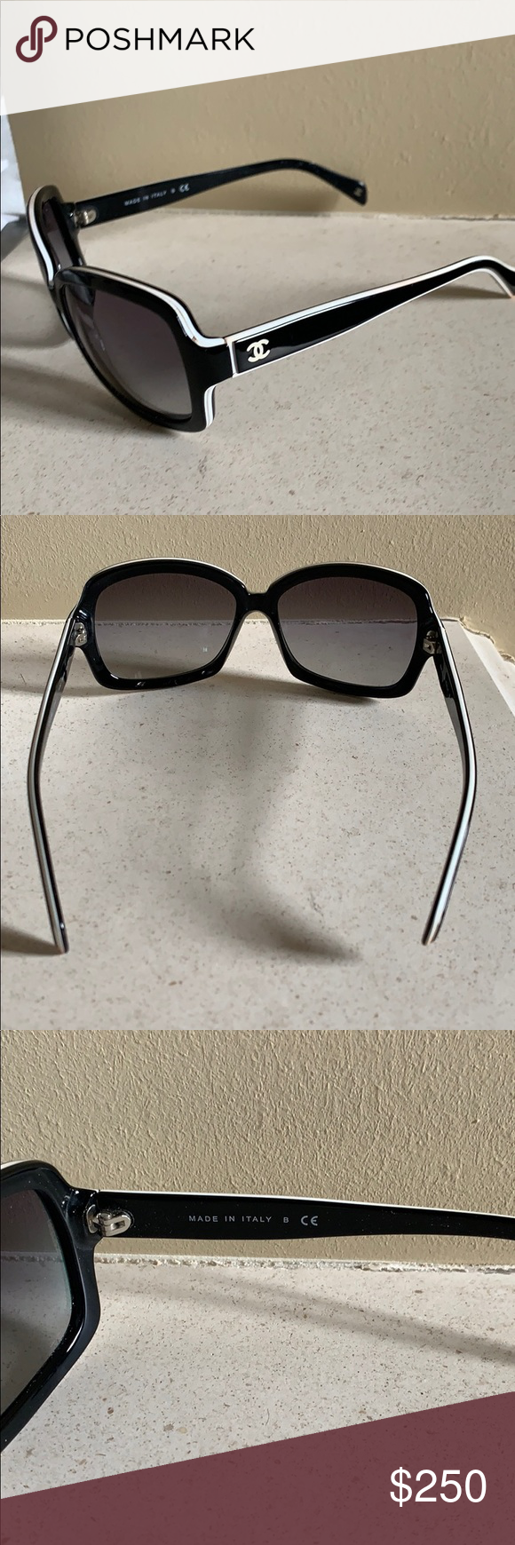 ba2811b143e Authentic Chanel sunglasses Lightly used purchased in Switzerland a couple  years back I don t