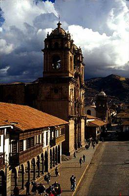 Iglesia de la Compañia de Jesús, Cuzco, Peru