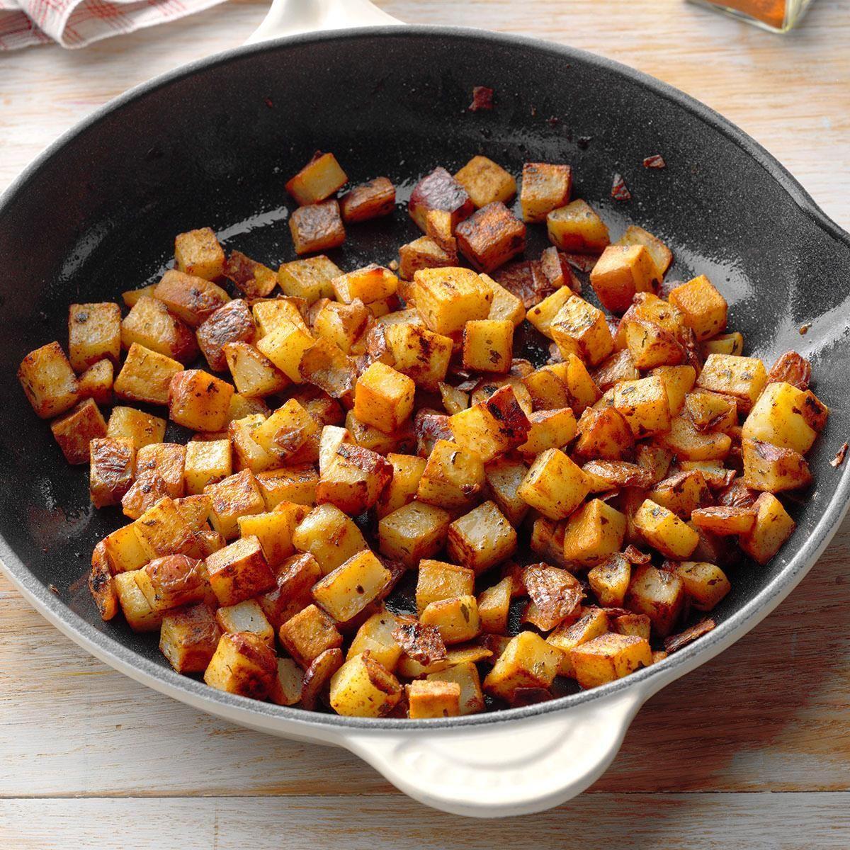 Skillet Red Potatoes Recipe In 2020 Red Potato Recipes Potato Recipes Red Potatoes
