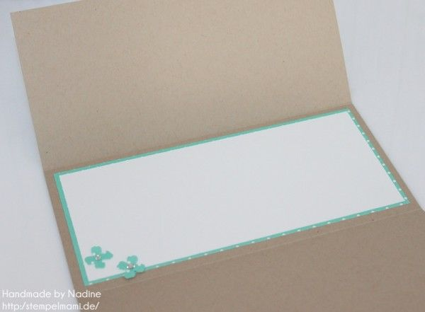 Stampin Up Geburtstagskarte Birthday Card Gutschein Geburtstag 120
