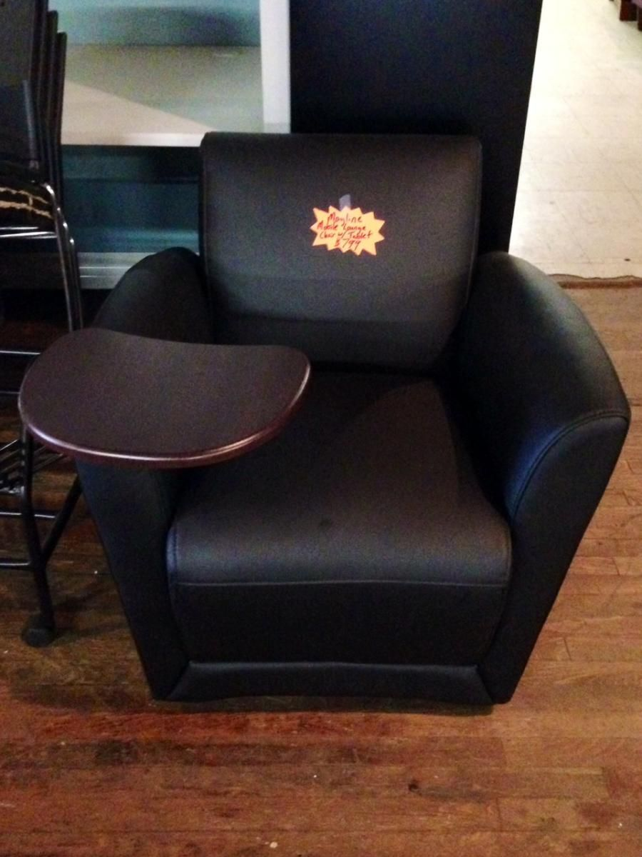 mayline mobile lounge chair with tablet arm www bfwnashville com rh pinterest com