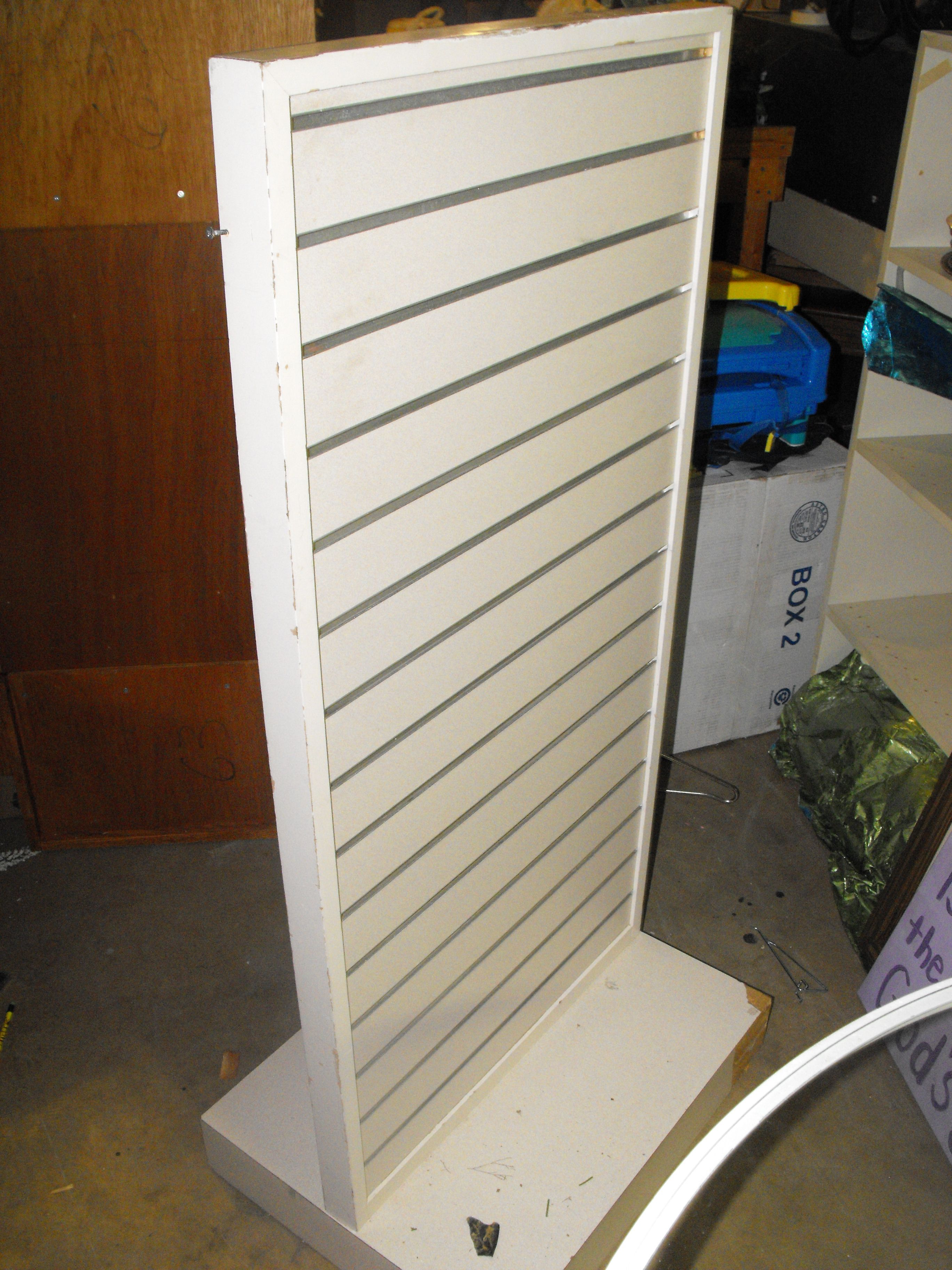 Slat Wall Retail Display 150 Slat Wall Small Solar Panels Study Room Furniture