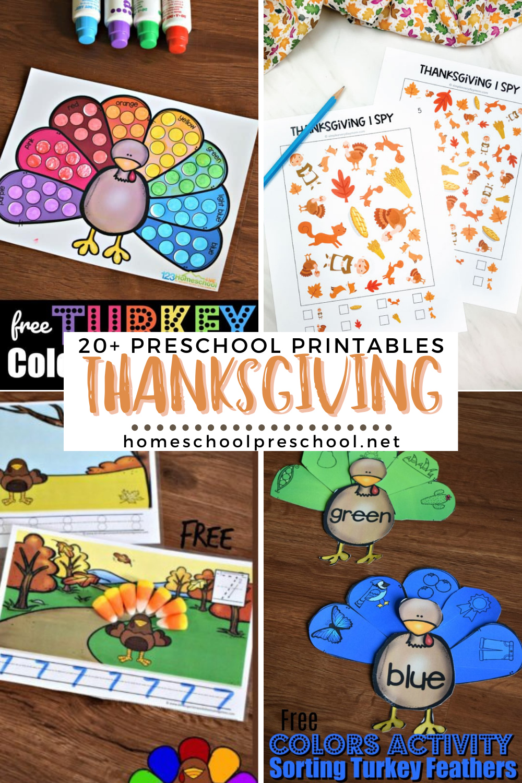Predownload: Pin On Thanksgiving Preschool And Family Fun [ 1500 x 1000 Pixel ]