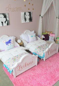 Resultado de imagen de habitacion dos niñas pequeña | habitaciones ...