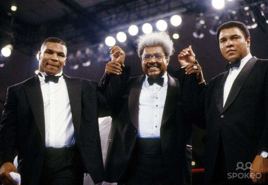 Mike Tyson ,Muhammad Ali, Don King